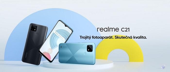 Realme C21 design